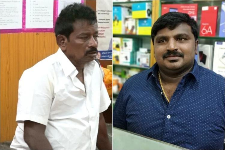 Jayaraj and his son Bennix