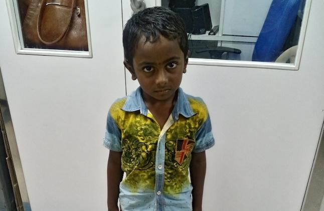 Had a great Deepavali Make it special by helping this 6-yr-old out of his dreadful disease