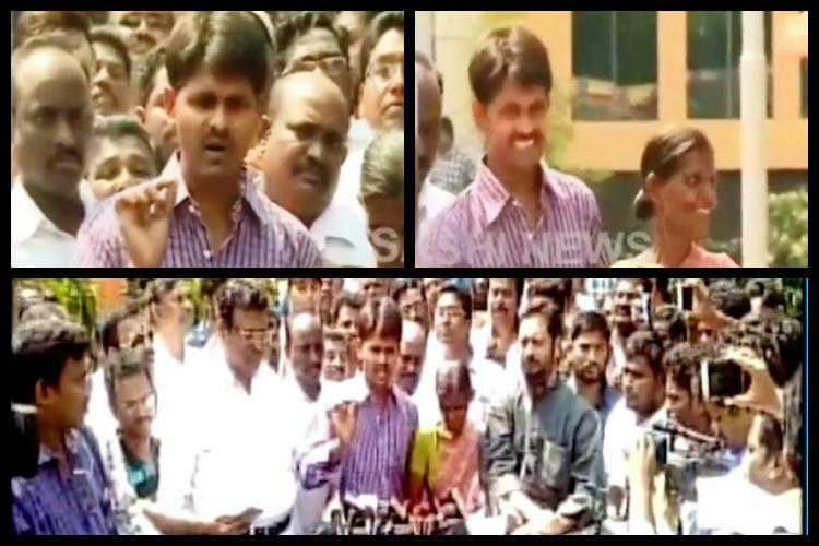 Justice has won Satyam Babu walks out after 8 years in Andhra jail for a crime he didnt commit