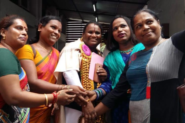 The battles not over yet Satyashri Sharmila on becoming Tamil Nadus first transgender lawyer