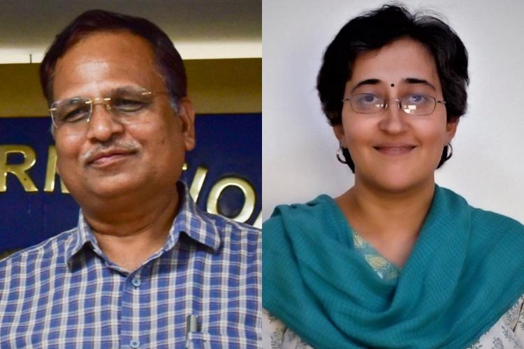 Delhi Health Min Satyendar Jain MLA Atishi diagnosed with COVID-19