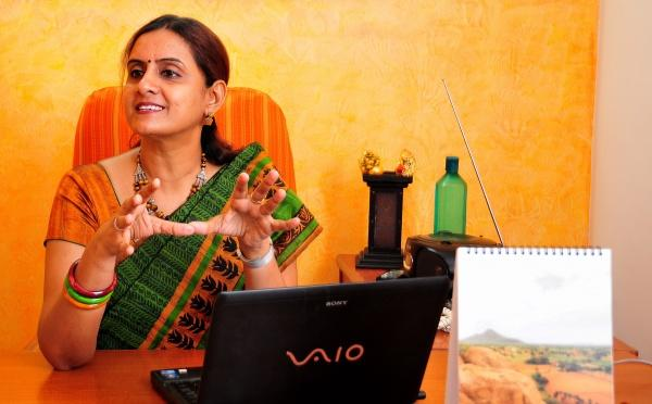 Meeting Saundarya Rajesh a woman entrepreneur who works for other women