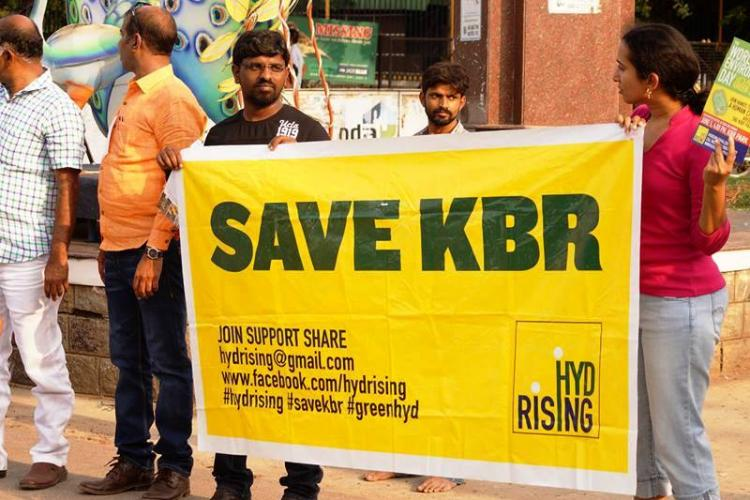Flyover at KBR park in Hyderabad gets green nod activists cry foul