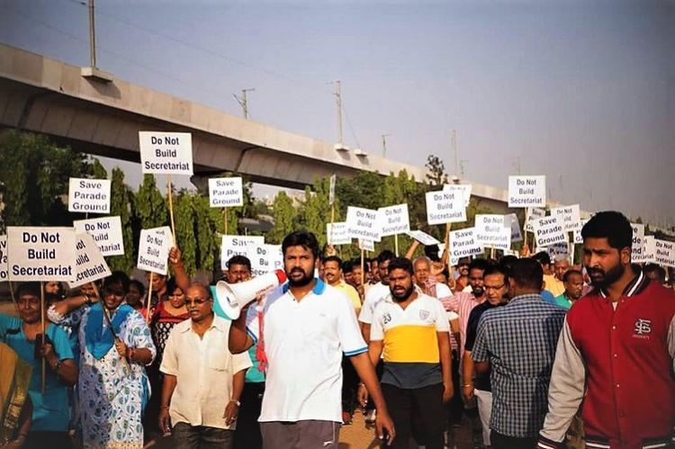 Telangana Secretariat to be built on Bison Polo Ground not Parade Ground KCR clarifies