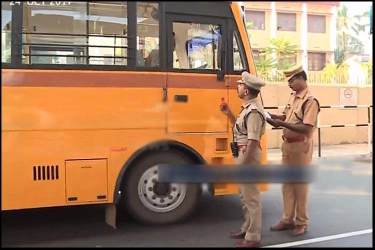 Kerala police book 92 school bus drivers for drunk driving in 3 hours