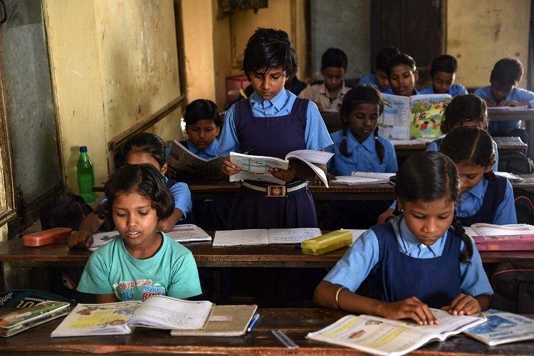 School children Vidyagama