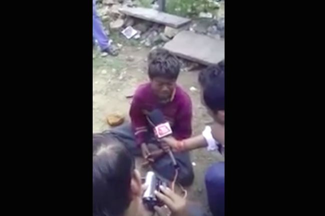 What the Aaj Tak Television leaked video incident shows