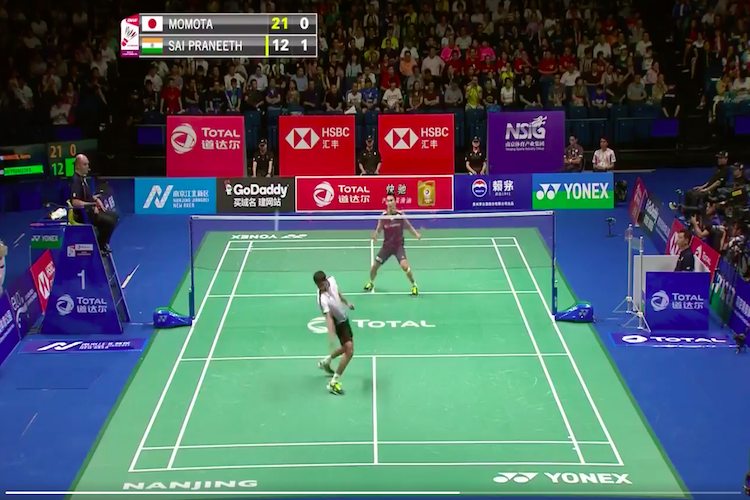Sai Praneeths jaw-dropping return at Badminton World Cships is a must-watch