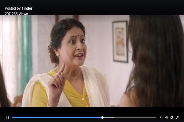 In Tinders new ad the date comes pre-approved by mummy
