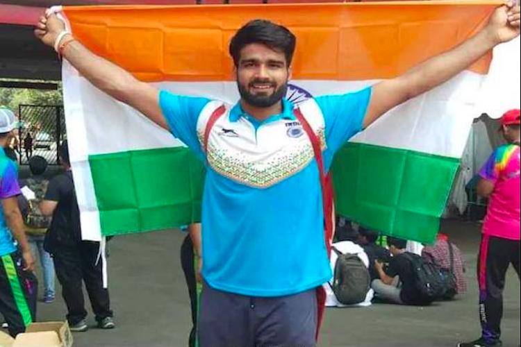 Para Asian Games Sandeep Raju Jadhav add 3 golds to Indias medal tally