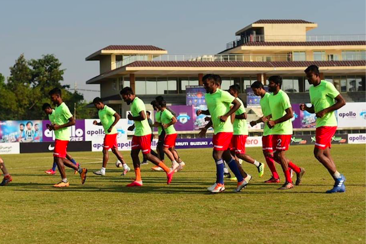 I-League Keeper Santana helps Chennai maintain unbeaten run