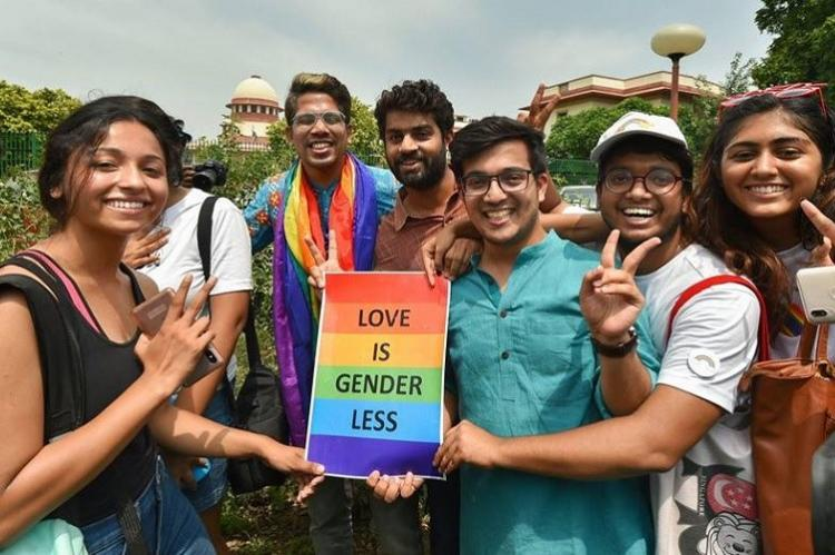 First victory in a long battle LGBTQ community celebrates reading down of Sec 377