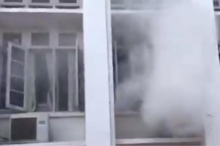 Fire broke out Kerala Secretariat in August 2020