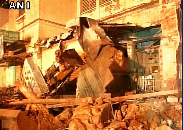 Two dead after building collapses in Secunderabad no injuries reported