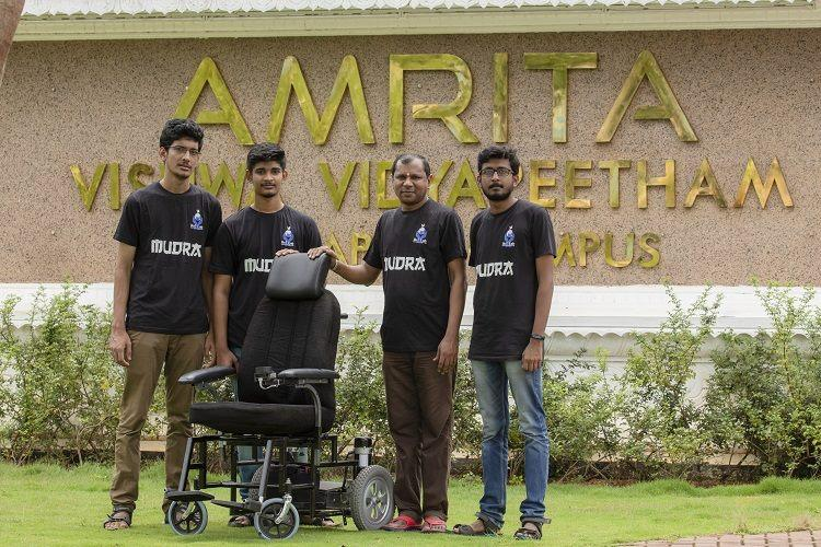 This wheelchair made by Kerala students self-drives and can be controlled via an app