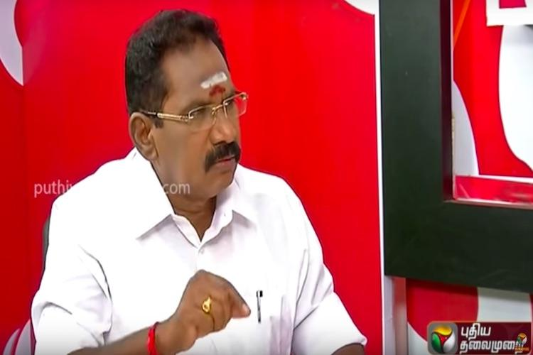 Sellur Raju stokes controversy with his aachi comment apologises as people protest