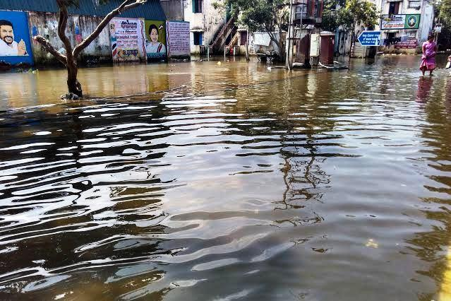 Why leave us out 2000 families in Semmenchery say govt flood relief money not given