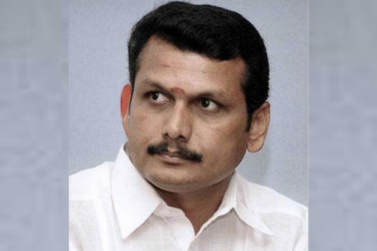 DMK MLA Senthil Balaji