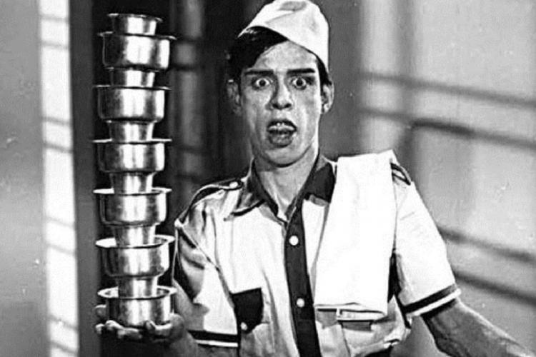 Nagesh as Server Sundaram in 1964 Tamil film