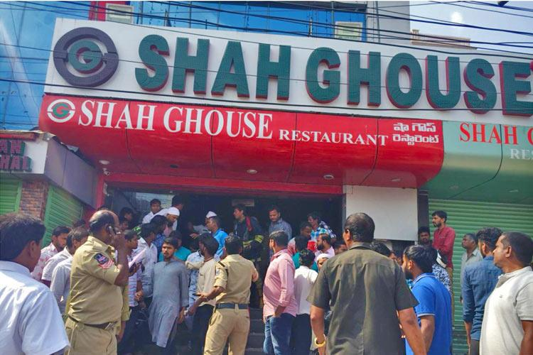 Gas leak leads to fire in Hyds Shah Ghouse restaurant 1 critically injured