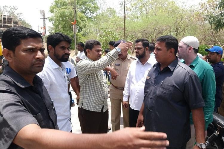 Mild tension in Hyds Shaikpet area after miscreants place Shiva Idol in historic mosque