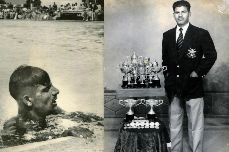 Forgotten Glory No one has recognised me says Shamsher Khan Indias first Olympic swimmer