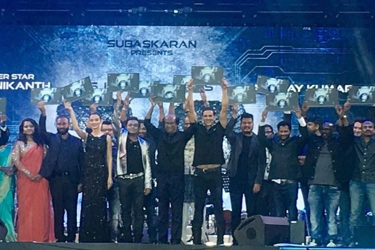 Rajinikanths 2O audio launch in Dubai Can it get any bigger