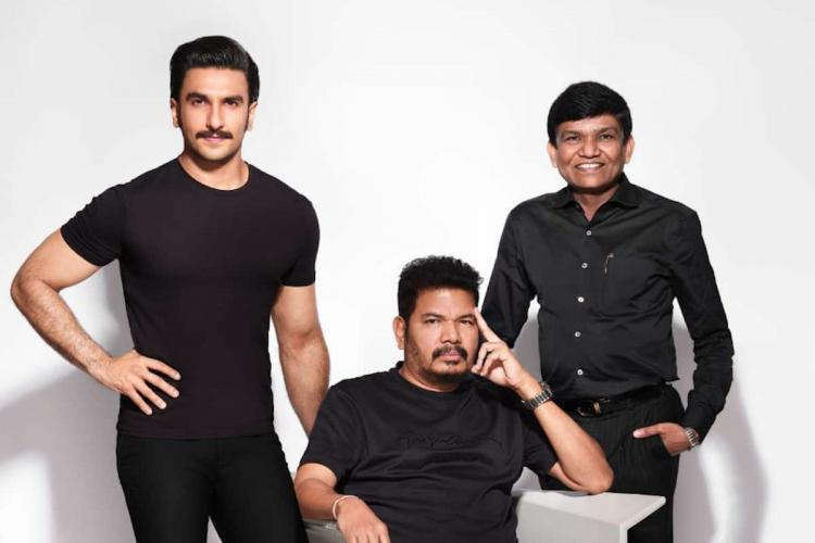Shankar Ranveer Singh wearing black