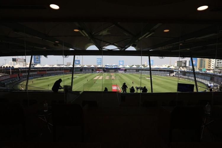 General view of Sharjah cricket stadium