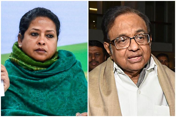 Has Cong outsourced task of defeating BJP to others Sharmistha Mukherjee to Chidambaram
