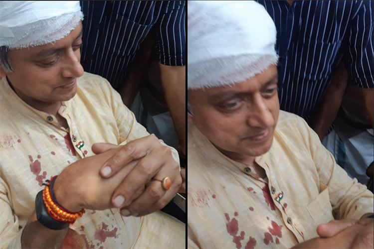 Shashi Tharoor suffers a fall during temple ritual in Kerala admitted to hospital