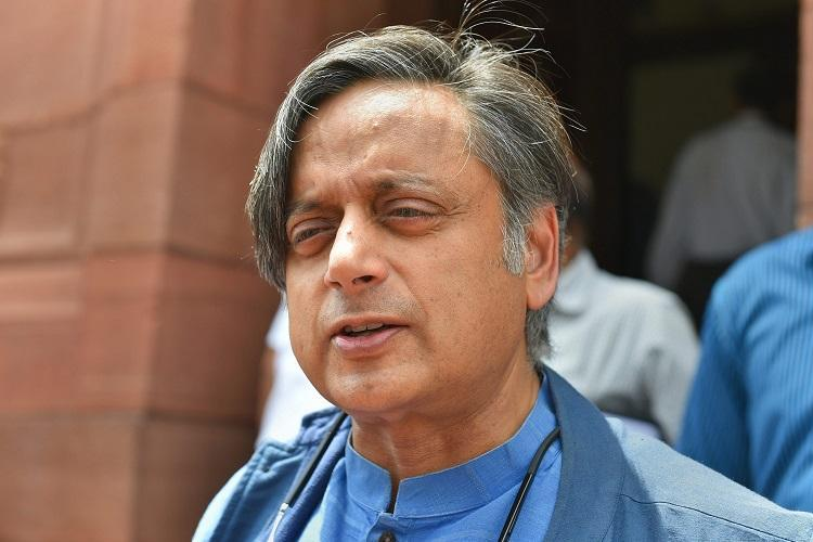 With CAA the Centre has brought Jinnahs logic Shashi Tharoor