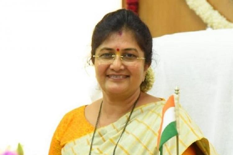 Karnataka Muzrai, Haj & Wakf Minister Shashikala Jolle