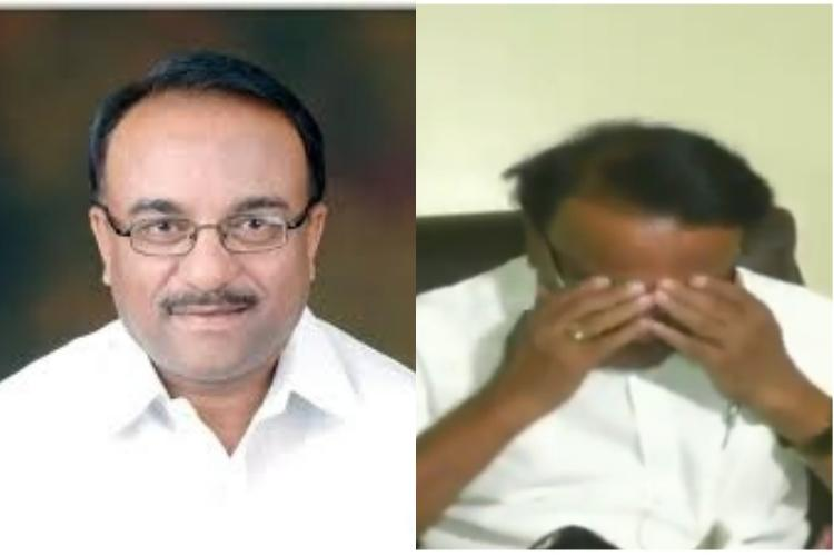 After candidate list announcement BJP leader from Gulbarga breaks down on camera