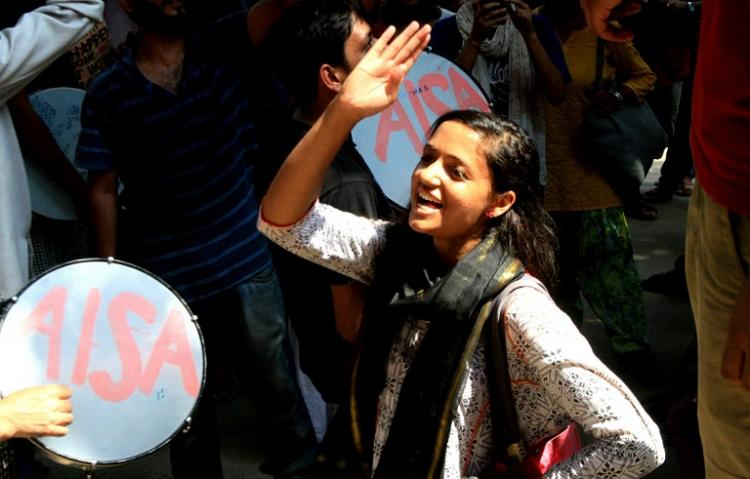 BJP condemns sedition against activists in TN will they do same for JNU students asks Shehla Rashid