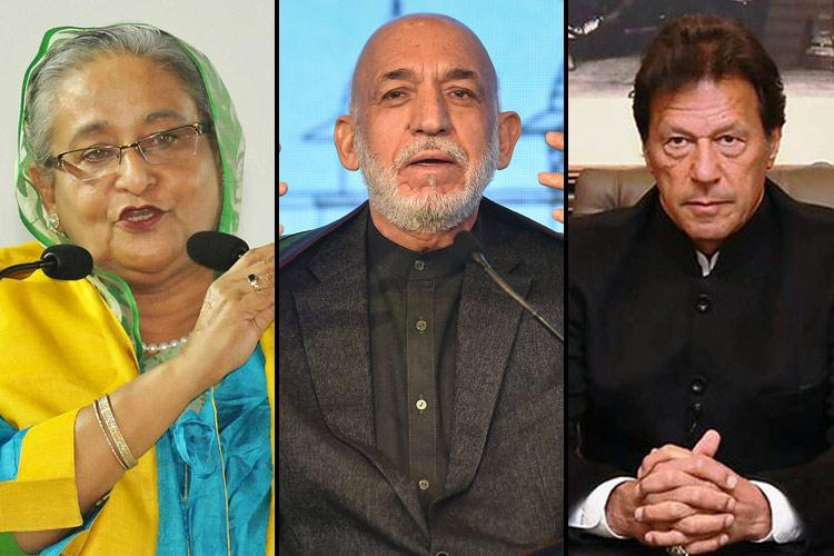 How leaders in Pakistan Bangladesh and Afghanistan have reacted to CAA