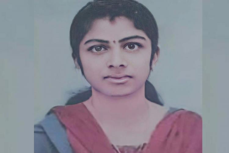 Close up image of Kerala nurse Shelmi Paulose