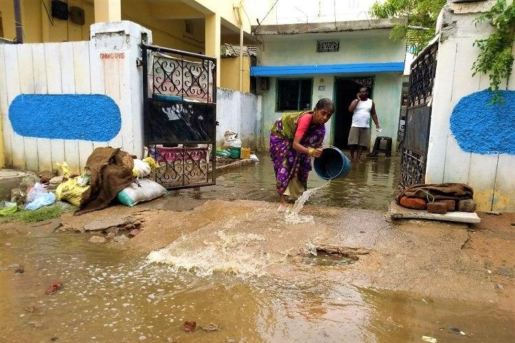 Hyd colony inundated again after rains frustrated residents threaten to shun elections