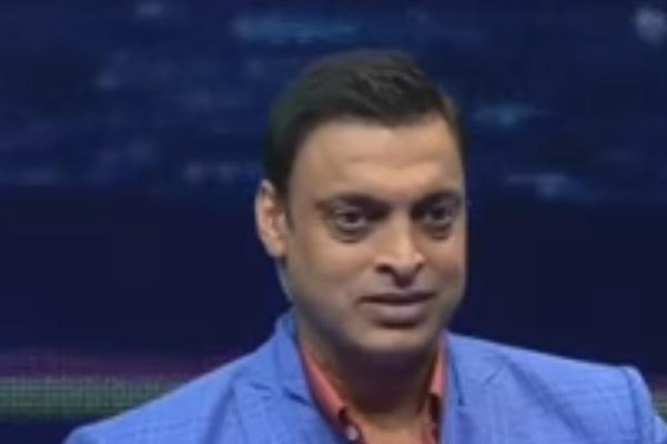 Watch Rawalpindi Express loses his cool in the post match show of India-Pakistan