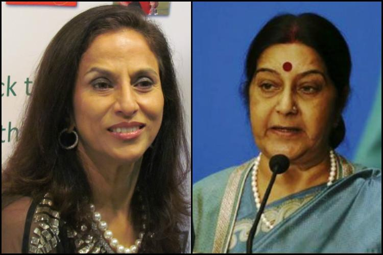 Shobhaa De tells Sushma Swaraj to keep calm and stop tweeting this year gets trolled