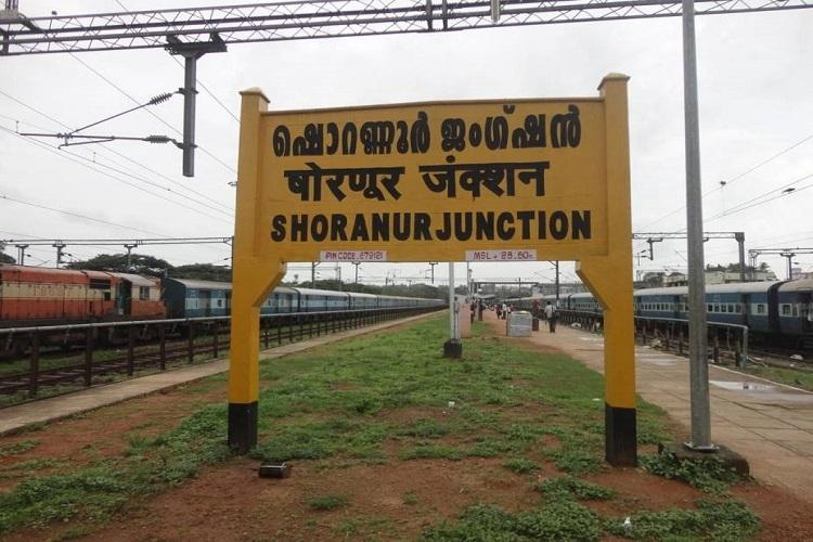 Over 10 long-distance trains to skip Shoranur station in Kerala from April