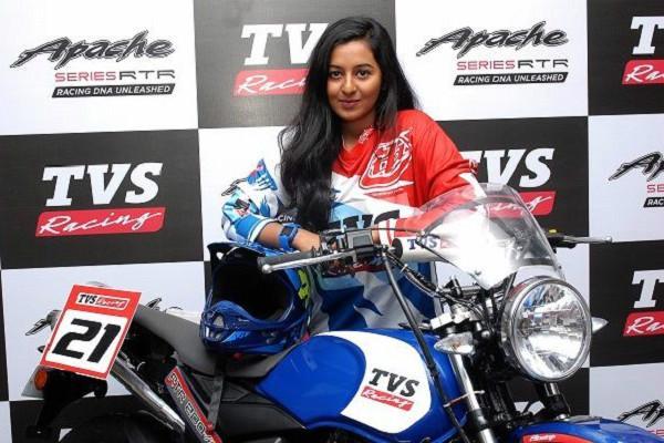 Breaching the male bastion of bike racing Bengaluru-girl Shreya rides to glory