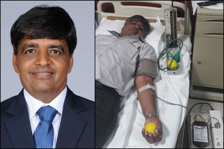Meet the Bengaluru man with a rare blood group who travelled to Vellore to save a life
