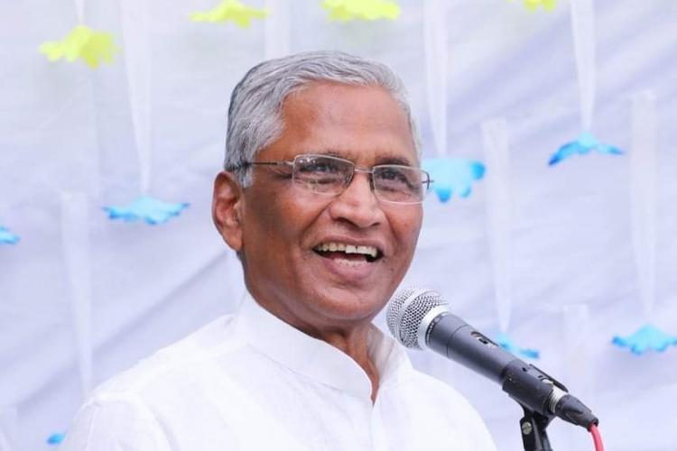 Former Minister for Minority Welfare Shrimant Patil