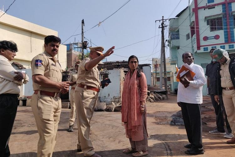 Telangana municipal polls Election observer visits Bhainsa town after violence