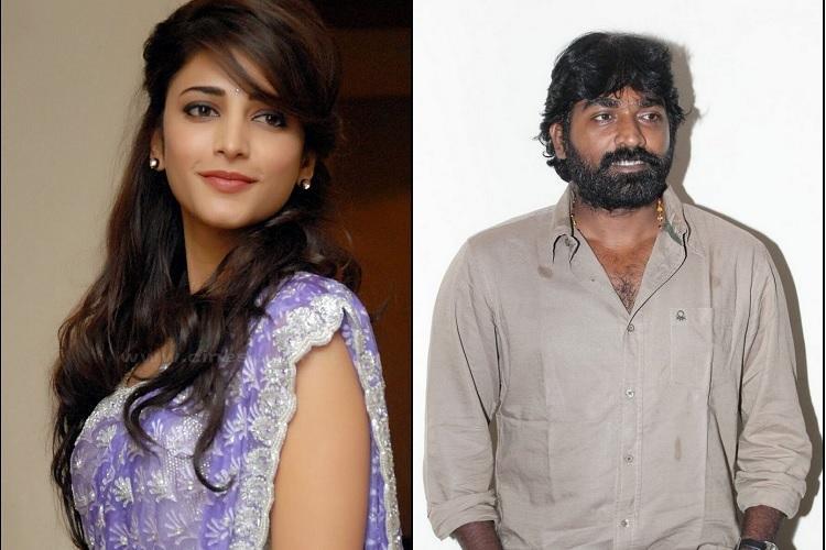 Shruti Haasan to act with Vijay Sethupathi in Jananthans film