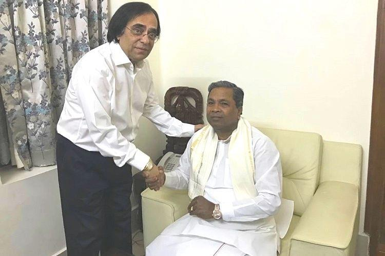 Congress divided Millionaire MLA Ashok Kheny enters party not everyone is thrilled