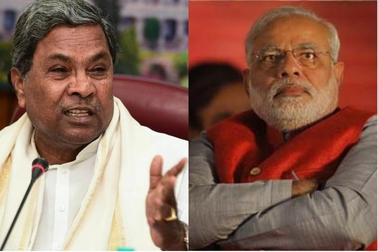 Cut bhashan promote action Siddaramaiah tells PM Modi on womens empowerment