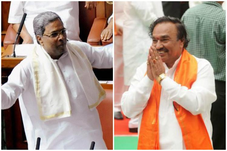 Siddaramaiah-Eshwarappa now square off in the race to gather Kuruba votes