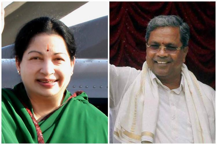 Karnataka CM Siddaramaiah pays respects to Amma